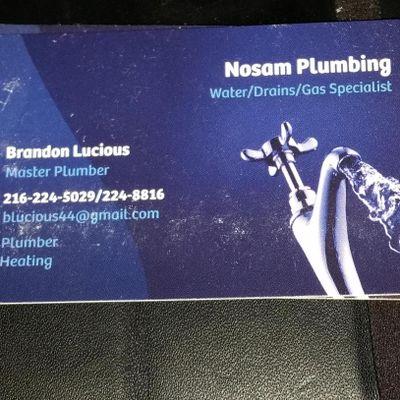 Nosam Plumbing Cleveland, OH Thumbtack