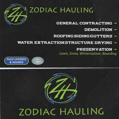 Zodiac Hauling & Outdoor Services LLC Mount Morris, MI Thumbtack