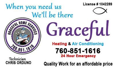 Graceful heating and air Conditioning La Quinta, CA Thumbtack