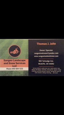 Sangeo Landscape And Snow Services LLC. Wickliffe, OH Thumbtack