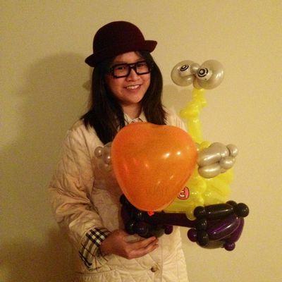 Gabby TJ Balloon Art Mineola, NY Thumbtack