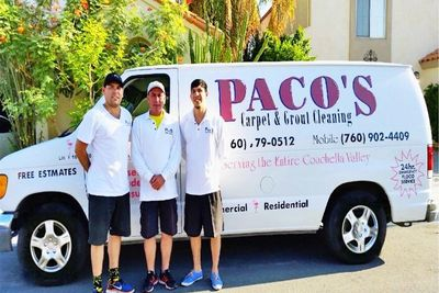 Paco's Carpet & Grout Cleaning Palm Desert, CA Thumbtack