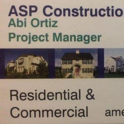 ASP Construction Silver Spring, MD Thumbtack