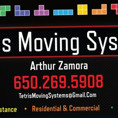 Tetris Moving Systems LLC Palo Alto, CA Thumbtack