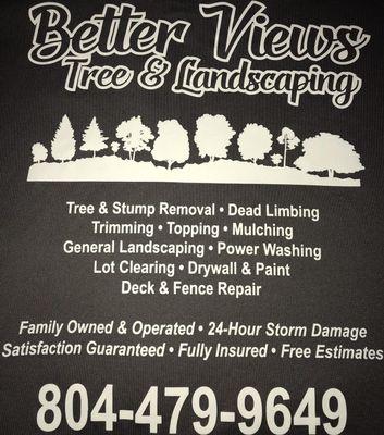 Better Views Tree and Landscaping Culpeper, VA Thumbtack