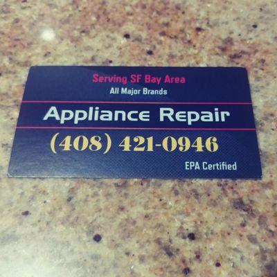 Delta Appliance & Refrigeration Repair Santa Clara, CA Thumbtack