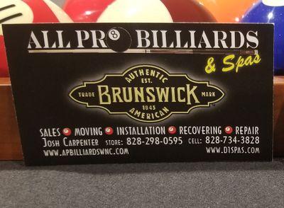 All Pro Billiards & Spas Asheville, NC Thumbtack