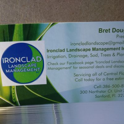 IRONCLAD LANDSCAPE MANAGEMENT Sanford, FL Thumbtack