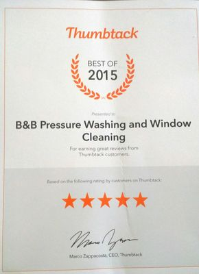 B&B Pressure Washing and Window Cleaning Westminster, CA Thumbtack