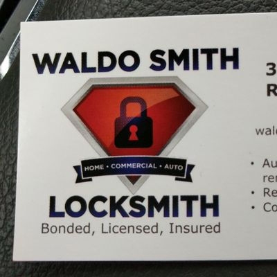 Waldo Smith Locksmith, LLC Reidsville, NC Thumbtack