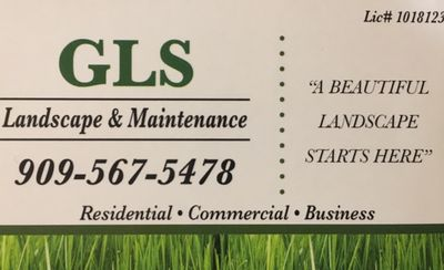 GLS Landscape and Maintenance Rialto, CA Thumbtack