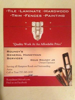 Roundy's General Handyman Services - Hayes, VA