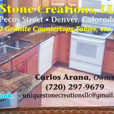 Unique Stone Creations llc Denver, CO Thumbtack