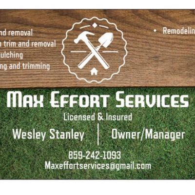 Max Effort Tree Trimming and Removal California, KY Thumbtack