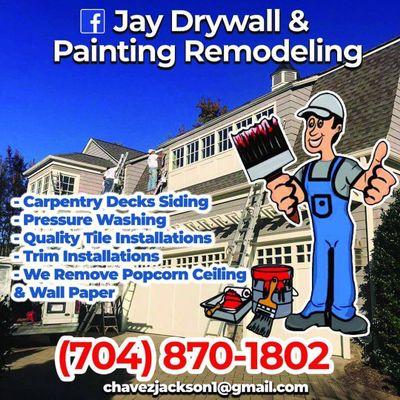 Jay Drywall Painting Remodeling Charlotte, NC Thumbtack