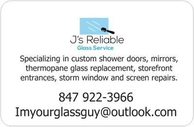 J's Reliable Glass Service Cary, IL Thumbtack