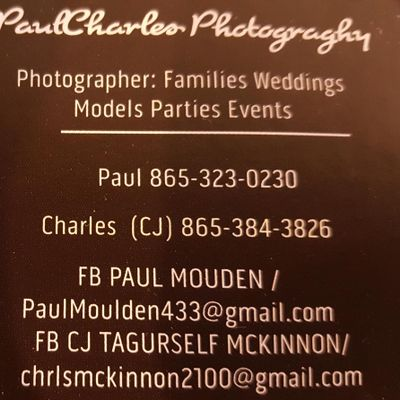 PaulCharles Photograghy Knoxville, TN Thumbtack