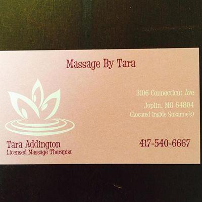Massage By Tara Joplin, MO Thumbtack
