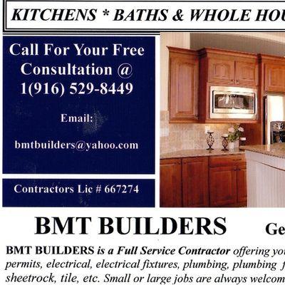 BMT Builders Sloughhouse, CA Thumbtack
