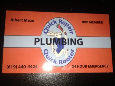 Cox Rooter  and fast fix plumbing San Diego, CA Thumbtack