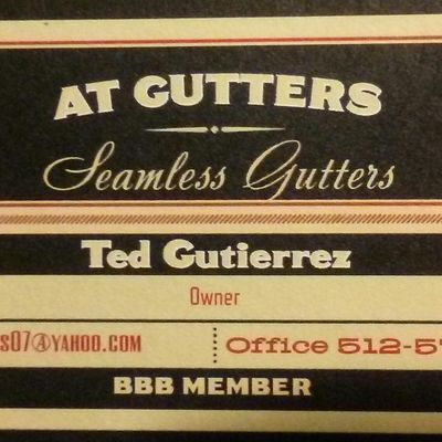 AT gutters ,LLC. Austin, TX Thumbtack