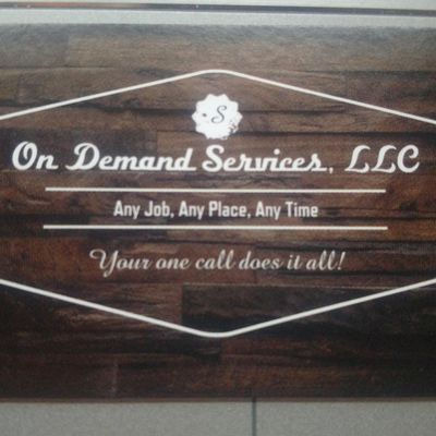 On Demand Services LLC Stevens Point, WI Thumbtack