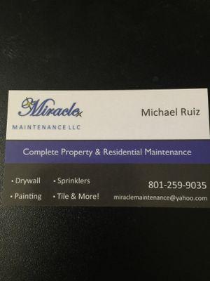 Miracle Maintenance LLC West Valley City, UT Thumbtack