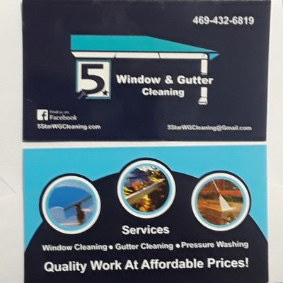 5star window Gutters cleaning & pressure washing Garland, TX Thumbtack