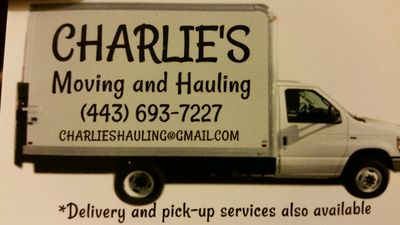 Charlies moving and hauling Columbia, MD Thumbtack