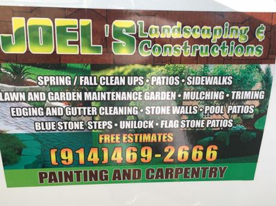 Joel's Landscaping construction home improvement Ossining, NY Thumbtack