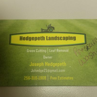 Hedgepeth Landscaping & Pressure Washing Alexandria, AL Thumbtack