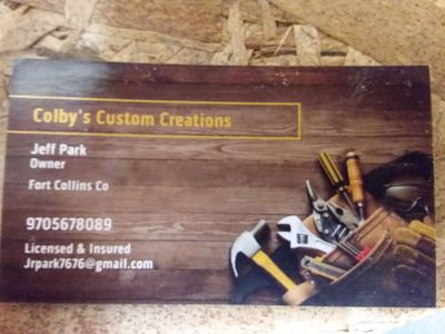 Colby's Custom Creations Fort Collins, CO Thumbtack