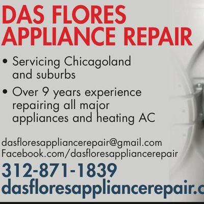 Das Flores Appliance Repair Elmwood Park, IL Thumbtack