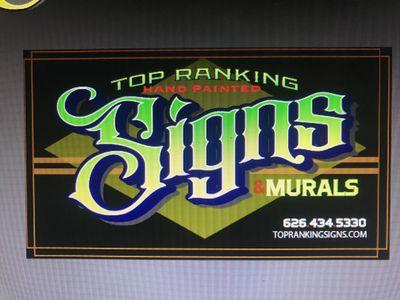 Top Ranking Signs Alhambra, CA Thumbtack