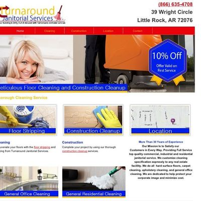 Turnaround Janitorial Services Conway, AR Thumbtack