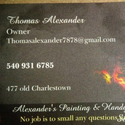 Alexander's painting & handyman service Stephenson, VA Thumbtack