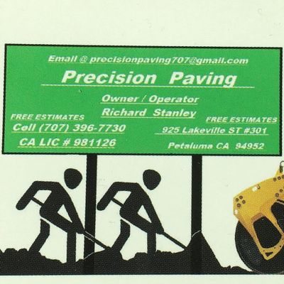 Precision paving co Rohnert Park, CA Thumbtack