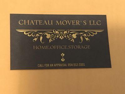 chateau Movers LLC Delray Beach, FL Thumbtack