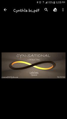 Cyn-Sational Contracting Mcallen, TX Thumbtack