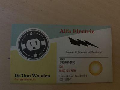 Alfa Electric Vancouver, WA Thumbtack