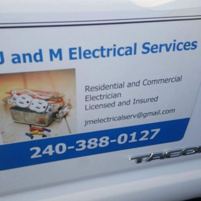 J and M Electrical Services Gaithersburg, MD Thumbtack