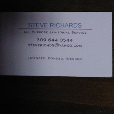 Steve's commercial janitorial services Rock Island, IL Thumbtack