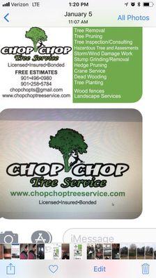 Chop Chop Tree Service Memphis, TN Thumbtack