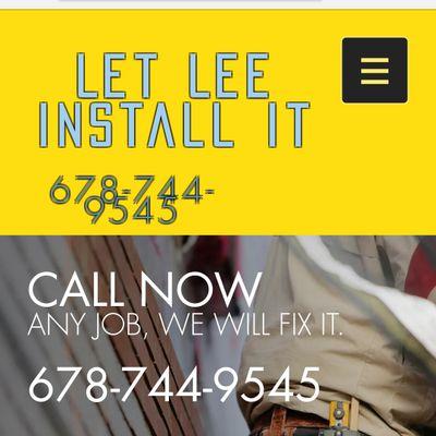 Let Lee Install It Atlanta, GA Thumbtack
