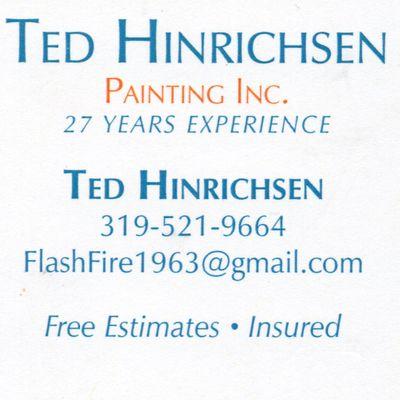 Ted Hinrichsen Painting Cedar Rapids, IA Thumbtack