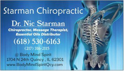 Starman Chiropractic Quincy, IL Thumbtack