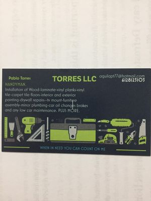 TORRES LLC Minneapolis, MN Thumbtack