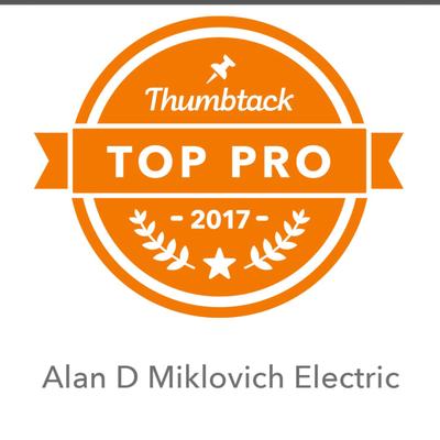 Alan D Miklovich Electric Santa Clarita, CA Thumbtack