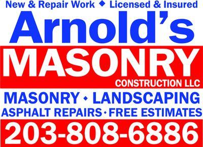 Arnold's Masonry And Construction, LLC Waterbury, CT Thumbtack