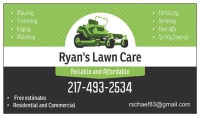 Ryan's Lawn Care Tuscola, IL Thumbtack